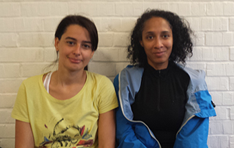 Women of the Man – Livia Pereira (left) Manager's player - Laurence Rose Mencé (right) Sunday 29th September Hackney WFC Reserves vs Enfield 3rds