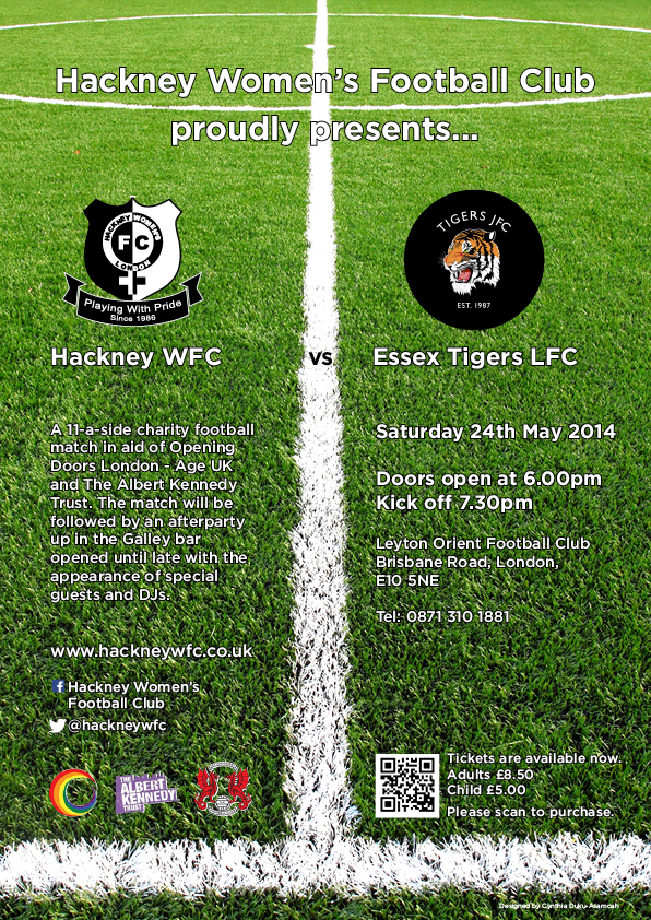 Hackney Women's FC vs Essex Tigers JFC