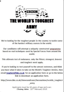 The World Toughest Army