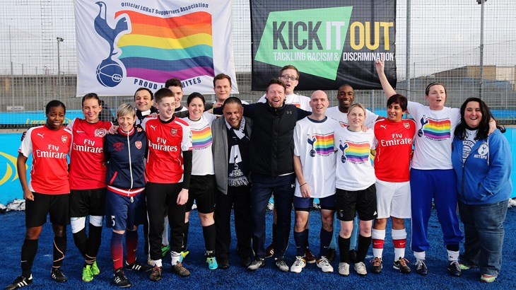 Proud Lilywhites Vs Gay Gooners