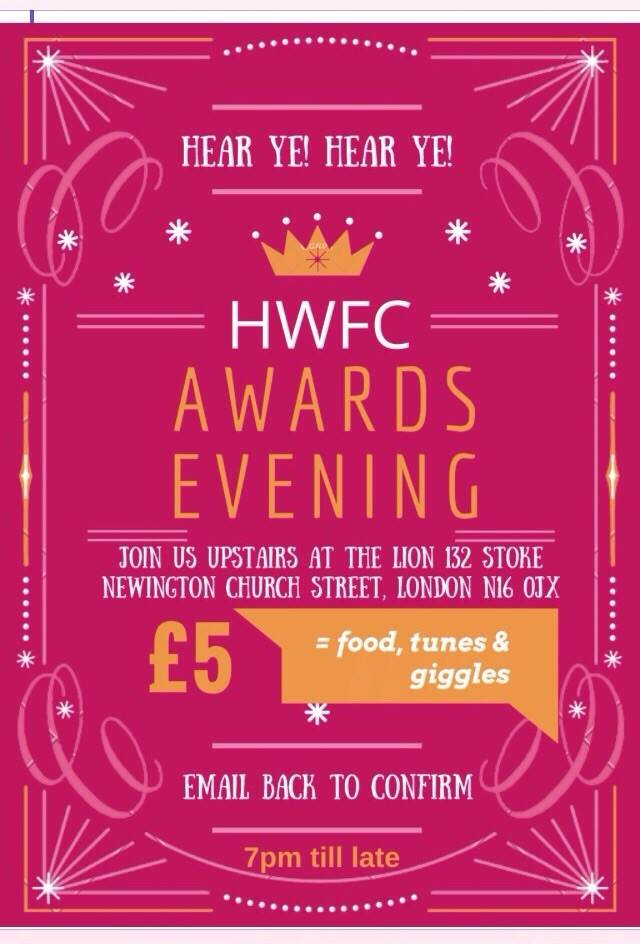 HWFC Awards Evening